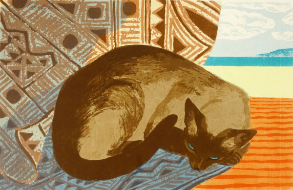 Island Cat Nap   21/30 by Dorr Bothwell