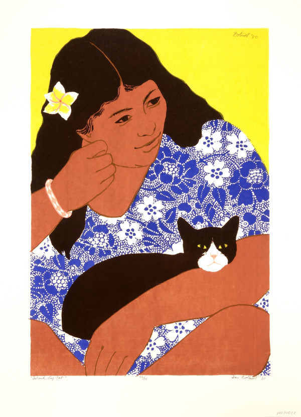 Island Lap Cat   26/28 by Dorr Bothwell