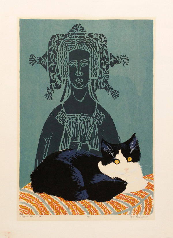 English Museum Cat   22/25 by Dorr Bothwell