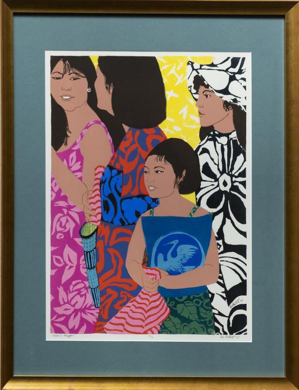 Waikiki Shoppers  no. 12/30 by Dorr Bothwell