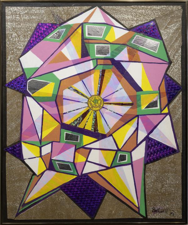 Crystal Flowering by Dorr Bothwell