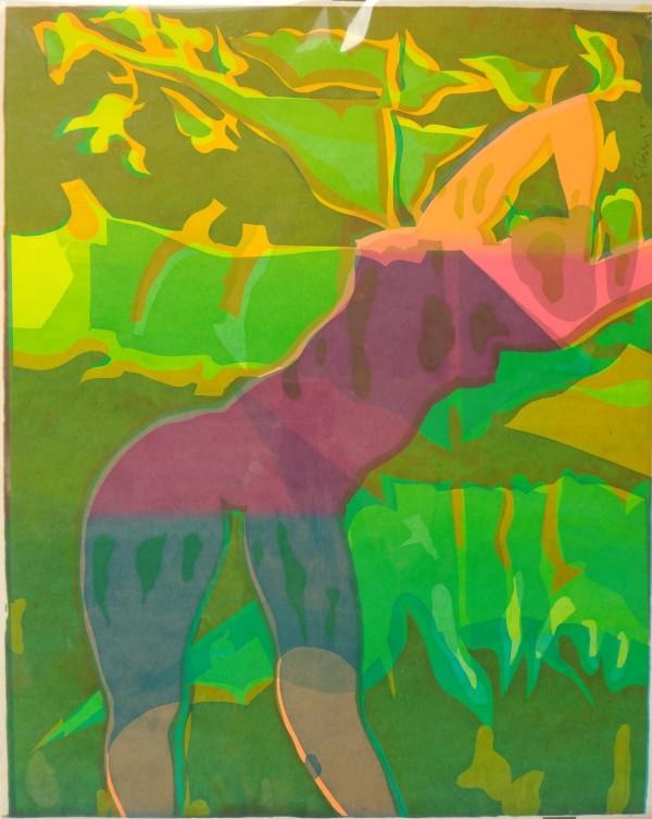 Bent Figure by Jan Stussy