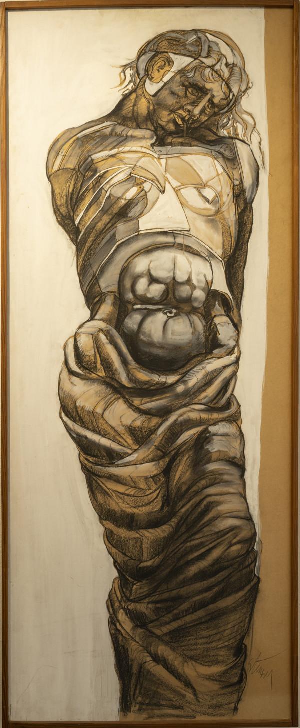 Girl in Armor by Jan Stussy