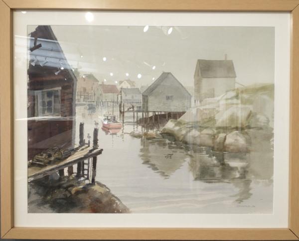Untitled (1982 Noyo Harbor) by Warren Zimmer