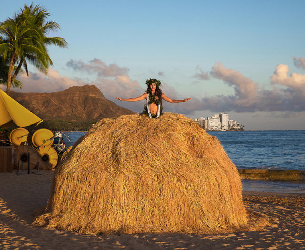 Hula Girl Dress Tent by Robin Lasser and Adrienne Pao