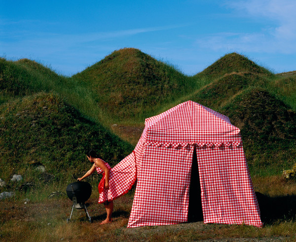 Picnic Dress Tent by Robin Lasser and Adrienne Pao