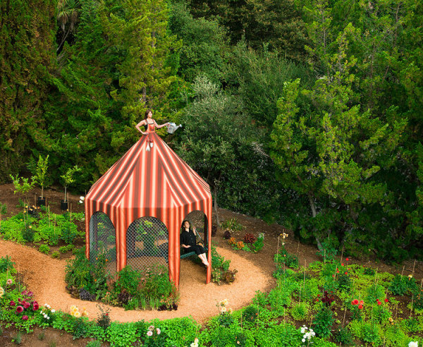 Edible Garden Dress Tent by Robin Lasser and Adrienne Pao