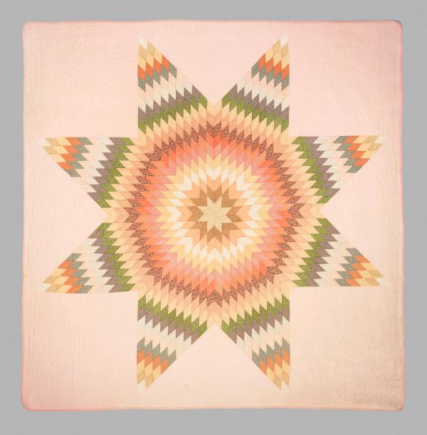 Lone Star Quilt by Mary Ellen White