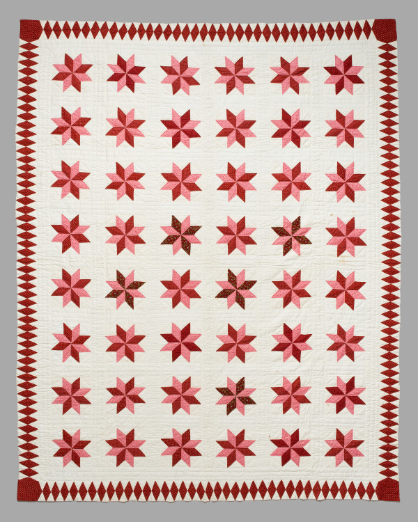 Lemoyne Star Quilt by Ellen Matilda Folts