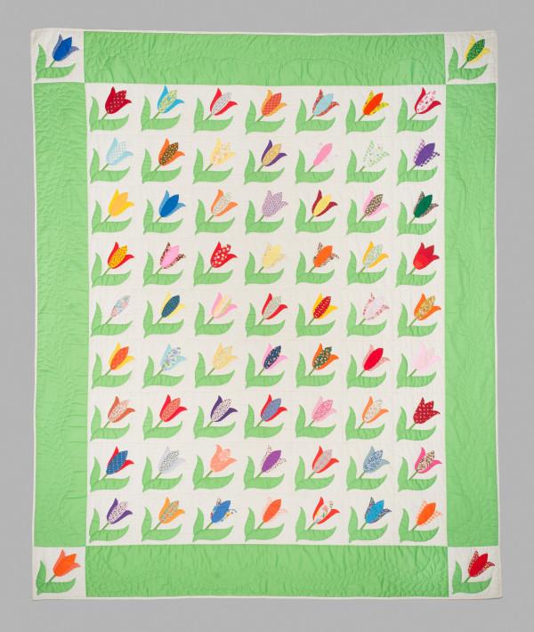 Tulip Quilt by Santa Clara Valley Quilt Association