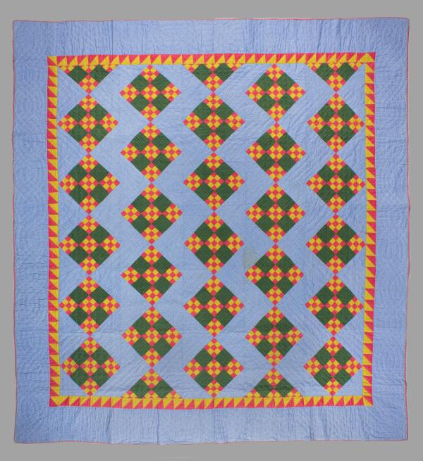 Nine Patch Quilt (variation) by Unknown Artist