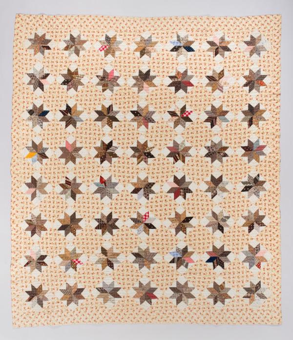 Lemoyne Star Quilt by Unknown Artist