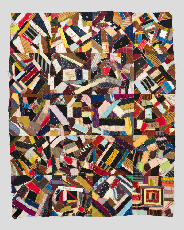 Crazy Quilt Top by Emily Robinson