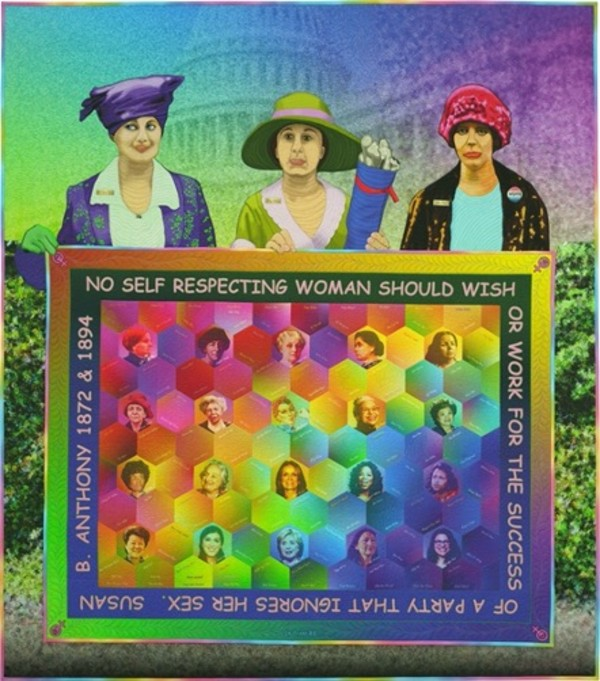 First Ladies by Caryl Bryer Fallert-Gentry