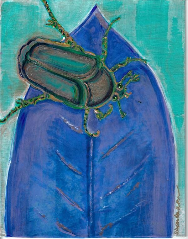 Magnolia Junebug 2 by Alexandra Anderson Bower