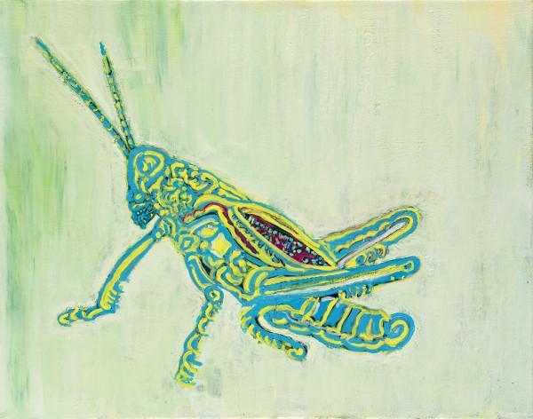 Grasshopper I by Alexandra Anderson Bower