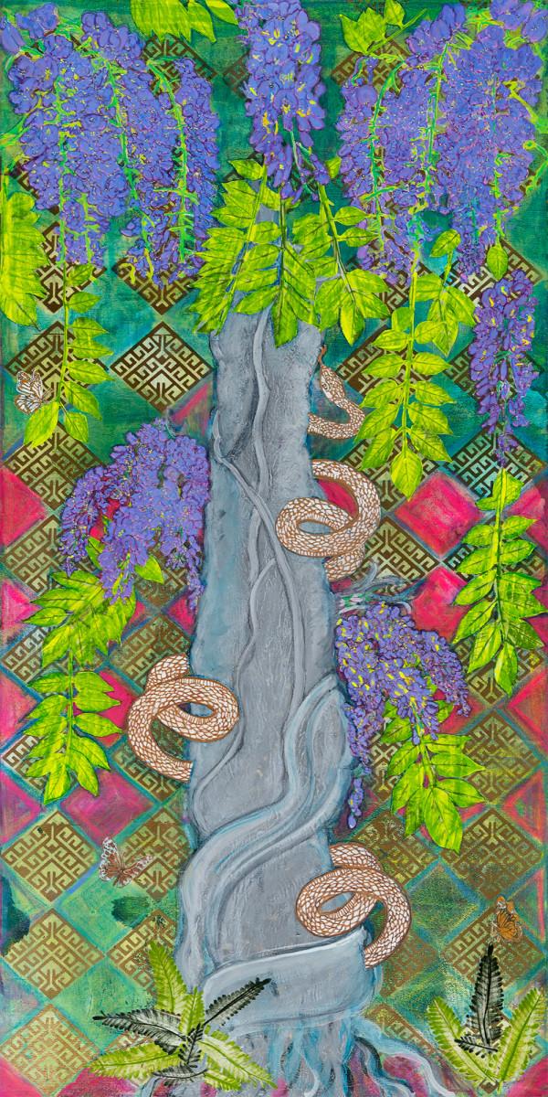 Asp Yggrasil by Alexandra Anderson Bower