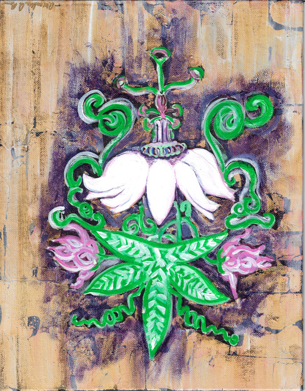 Passion Flower 1 by Alexandra Anderson Bower