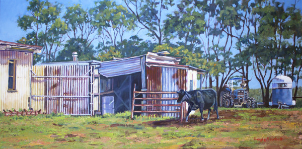 Queensland Farm Life 2 - Limited Edition Print (25) by Gayle Reichelt