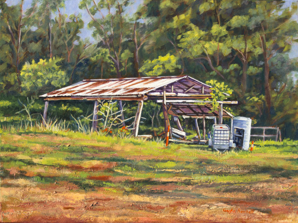 Rayner's Sawmill by Gayle Reichelt