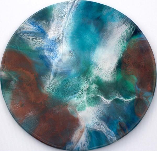 Lava Meets Sea by Gayle Reichelt