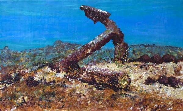 Underwater Anchor  by Gayle Reichelt