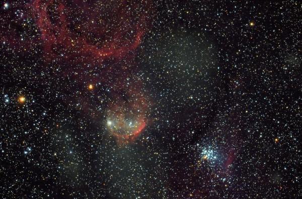 Gabriela Mistral Nebula by John Reichelt
