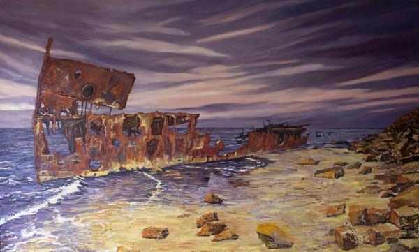 Gayundah: On the Beach by Gayle Reichelt