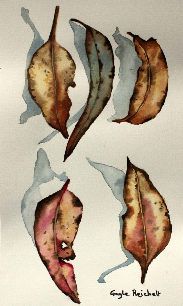 Autumn Leaves 1 by Gayle Reichelt
