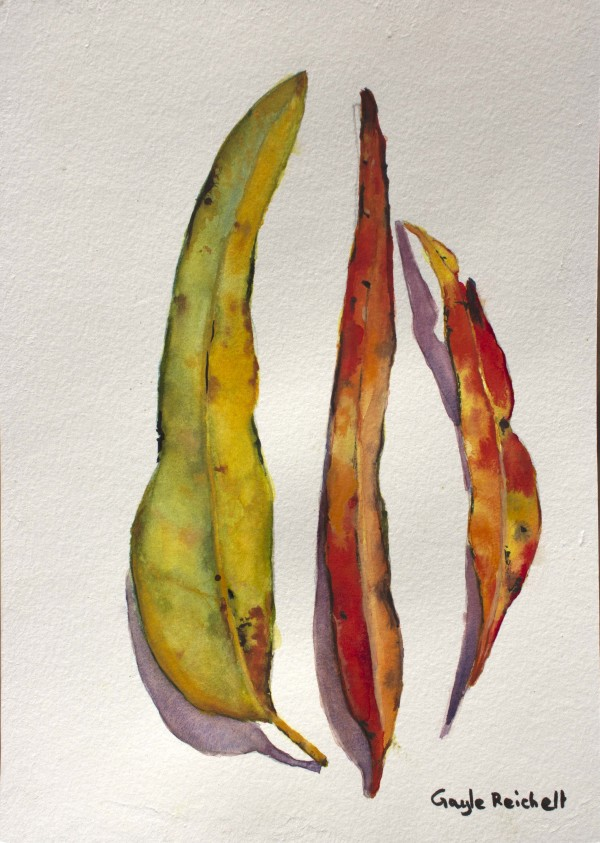 Autumn Leaves 2 by Gayle Reichelt