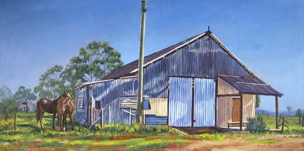 Queensland Farm Life 1 by Gayle Reichelt