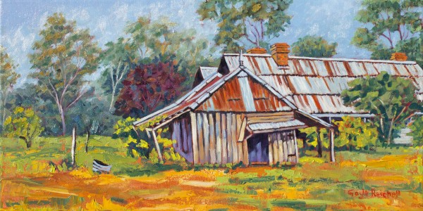 Old Shed, Coonanga Homestead by Gayle Reichelt