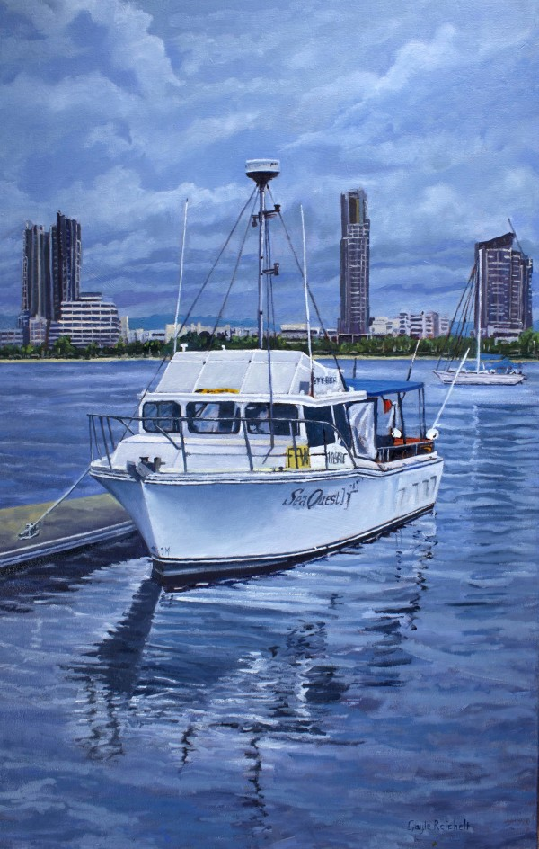 Sea Quest - Giclee Print on Canvas by Gayle Reichelt