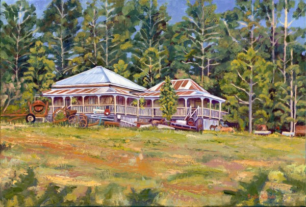 Sehmish House, Bonogin - Limited Edition Art Print (25) by Gayle Reichelt