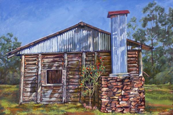 Slab Hut by Gayle Reichelt