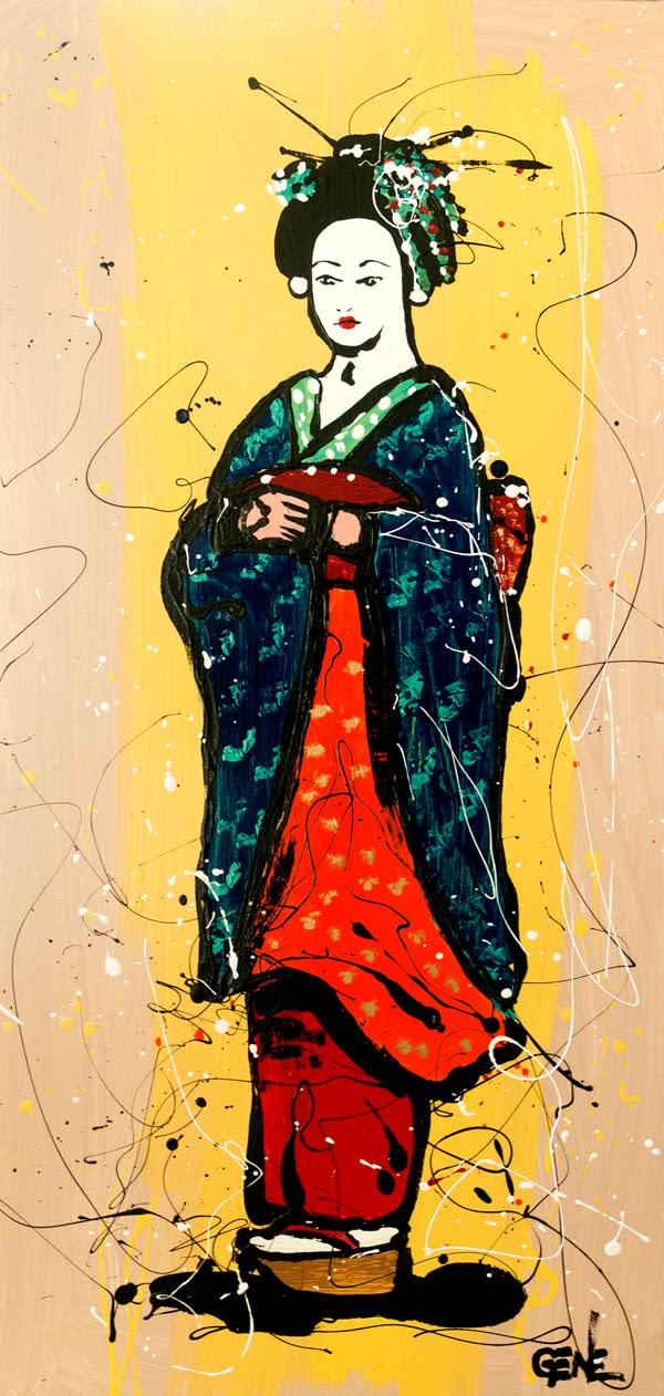 Geisha Standing by GENE