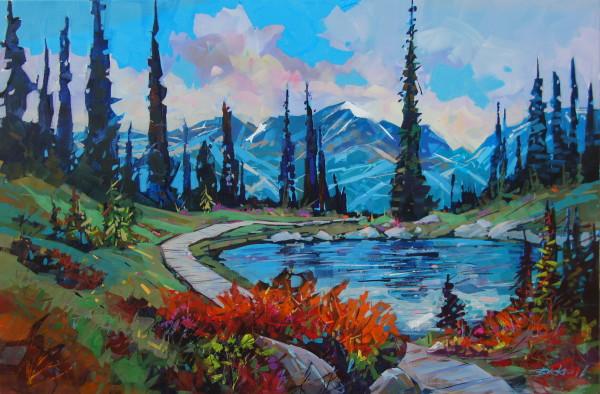 Harmony Autumn Walk by Brian Buckrell