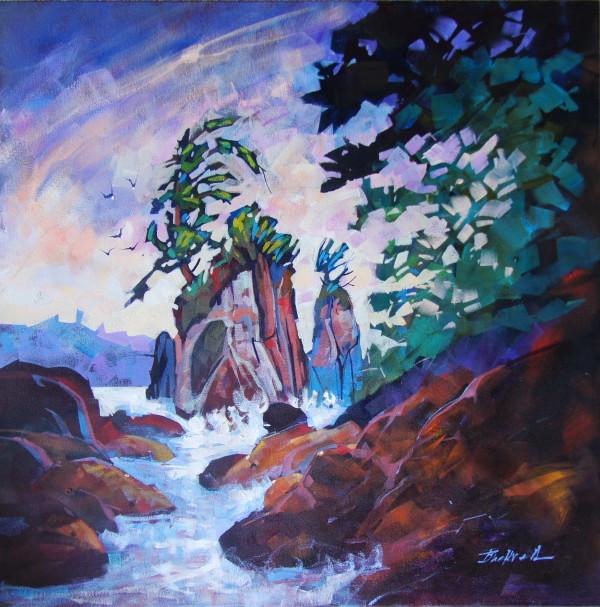 Shore Breeze Bamfield  by Brian Buckrell