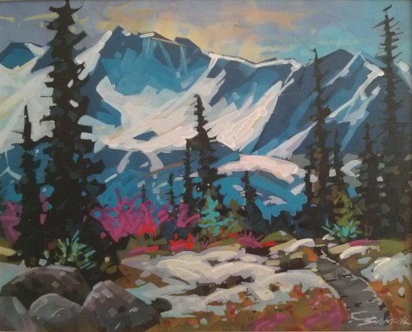 Strathcona Hike by Brian Buckrell