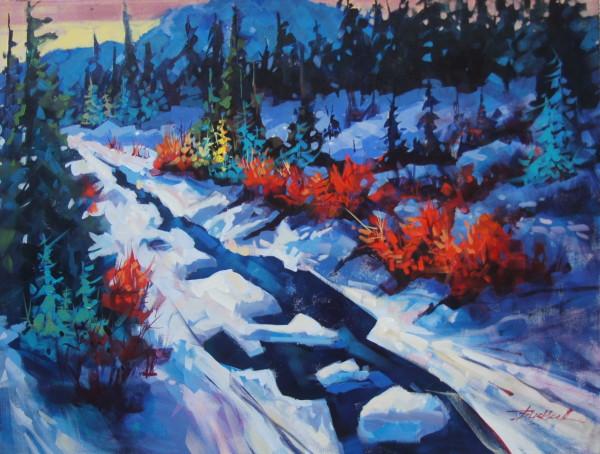 Strathcona Morning  by Brian Buckrell