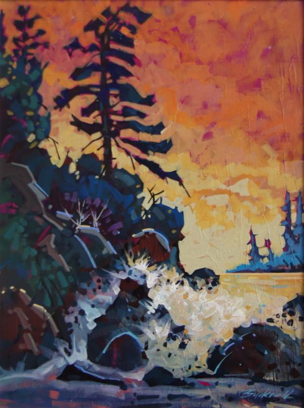 Tofino Beach Sunset PRINT by Brian Buckrell