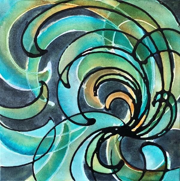 Gravitational Waves #29 by Melynda Van Zee