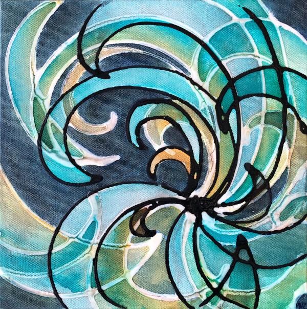 Gravitational Waves #30 by Melynda Van Zee