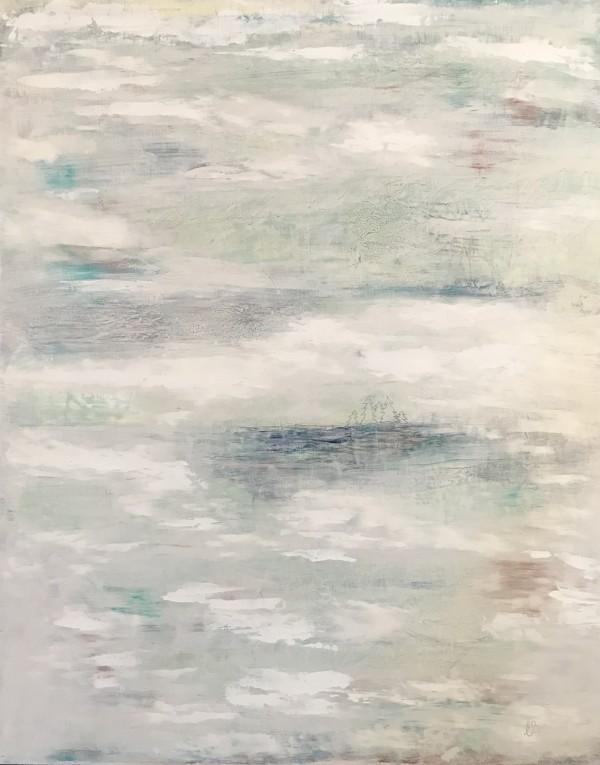 Misty Cottage Morning by Ella Balkwill