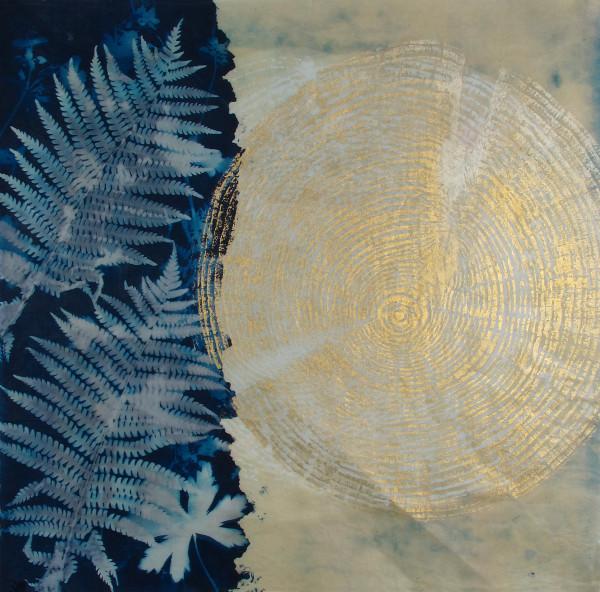 Golden Ferns by Bonnie Baker