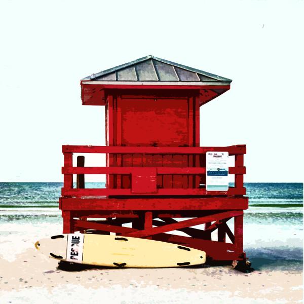 Beach Watch by Gina Godfrey