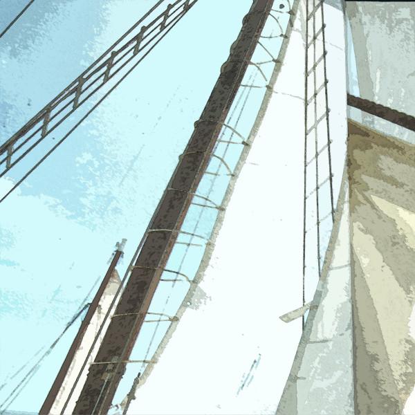 Sailboat by Gina Godfrey