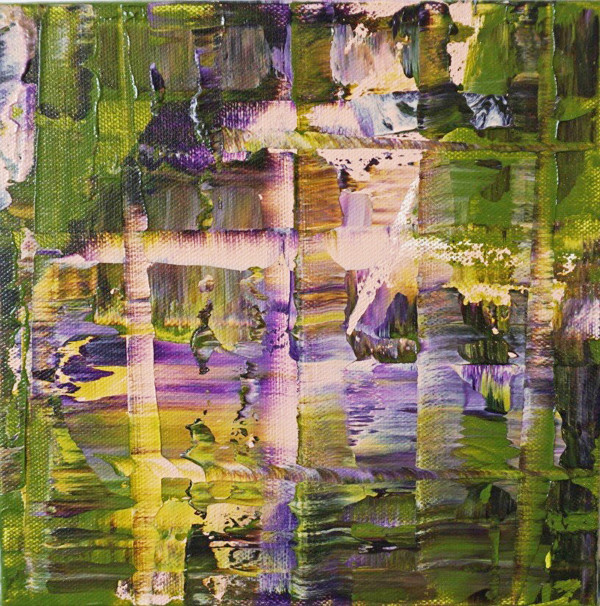 Maui/Bologna Italy Abstracts (4) by Khalilah Birdsong