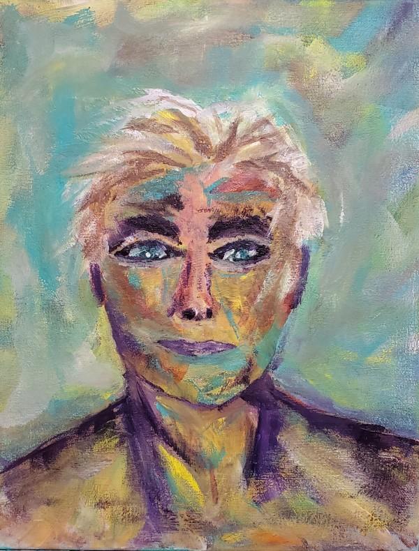 Self Portrait by Ann Alexander