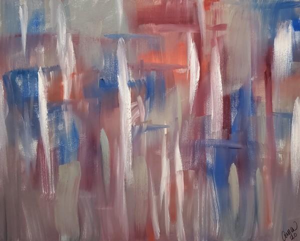 City Rain by Ann Alexander